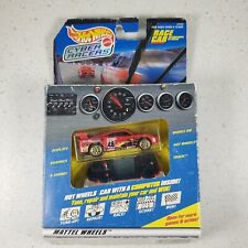 Hot Wheels Cyber Racers Race Car International GT Racer w/ computer inside Red
