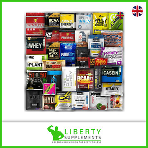 Supplement Samples Protein, Pre Workout, Mass Gainer, Fat Burner, BCAA, Amino Ac