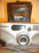 KONICA Z UP 80E 35MM FILM CAMERA~35-80MM ZOOM LENS~SELF TIMER~AUTO FOCUS 16M19