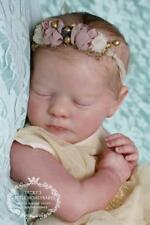 "NEW! Realborn ~ Sleeping Baby Evelyn ~ 20"" Reborn Vinyl Doll Parts Kit 6556"