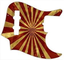 J Bass Pickguard Custom Fender Graphic Graphical Guitar Pick Guard Big Top Peak
