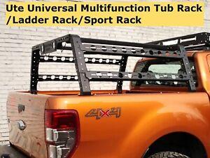 Ute Tub Rack Universal Ladder Rack Roof Multifunction 4WD 4X4 Steel Carrier Cage