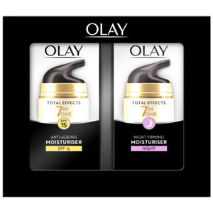 Olay Total Effects Anti-Ageing Day and Night Twin Pack Cream 37ml - New