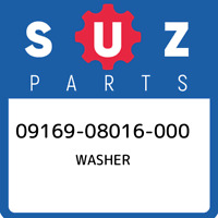 09169-08016-000 Suzuki Washer 0916908016000, New Genuine OEM Part