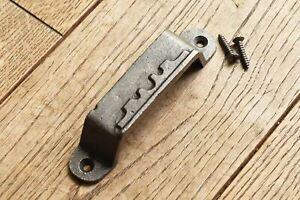 CLASSIC ANTIQUE STYLE CAST IRON RIM LOCK DOOR LOCK KEEP WH65