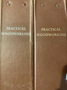 Practical Woodworker Magazine: Two Binders with Magazines 1968/69 & 1969/70.