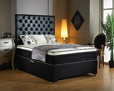 Luxury high quality 2000 pocket sprung memory foam divan beds KINGSIZE