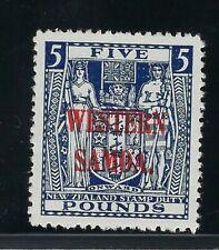 WESTERN SAMOA SCOTT # 202 FIVE POUNDS MNH