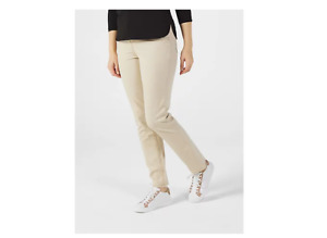 Ruth Langsford Straight Leg Cotton Twill Trouser Regular Stone Size 16 Brand New