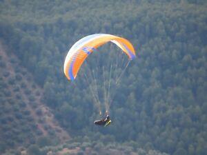 Paragliding Wing Skywalk Chili 4, Size XXS (55-77 kg), only 35 hours, EN B /