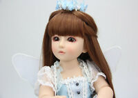 45cm Popular beautiful SD/BJD doll quality handmade brown fair birthday gift toy