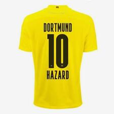 Thorgan Hazard Borussia dortmund Men Home Short-Sleeve Soccer Jersey