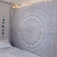 Hippie Ethnic Indian Dorm Decor Wall Hanging Mandala Tapestry Bohemian Bedspread