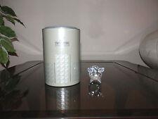 Swarovski Silver Crystal Figurine Medium Pig Mint 7638 Nr050 000 Retired