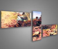 Quadri moderni astratti 180 x 70 stampe su tela canvas con telaio MIX-S_134