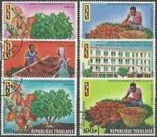 Timbres Flore Togo 711/3 PA154/6 o lot 28711