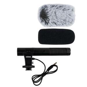 Dörr Universal Richtmikrofon CV-02 für Smartphone, Tablet, Kameras 3,5mm Buchse
