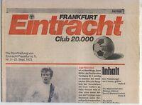 BL 73/74 Eintracht Frankfurt - Borussia Mönchengladbach (22.09.1973)