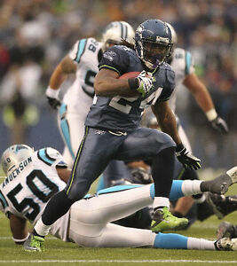 {24 inches X 36 inches} Marshawn Lynch Poster #3 - Free Shipping!