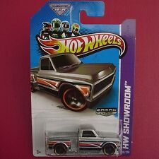 ZAMAC Custom '69 Chevy Pickup Truck. HW Showroom 161/250. New in Blister Pack!