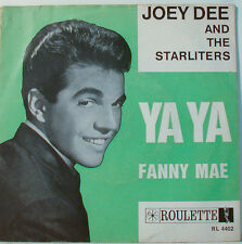 "Joey Dee and the Starliters - Ya Ya Fanny Mae - 7 "" Single (F480)"