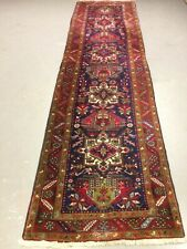 antico-swiss  Beautiful Antique indoHERIZI runner   3`1 x 11`2  ft