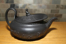Rare Antique Wedgwood Basalt Large Widow of Zarapeth Teapot (c.1800)