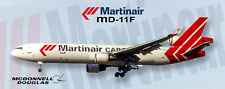 MartinAir Airlines MD-11F Handmade Photo Magnet (PMT1673)