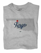 Fargo Oklahoma Ok T-Shirt Map