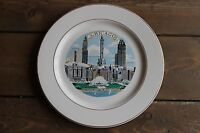 Vintage Chicago Skylline Collectors Plate Notice the missing buildings
