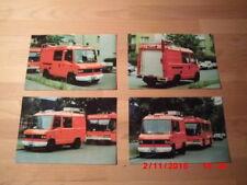 De Berlin pompiers BF Berlin 4 x photo 10 x 15 Mo laterale b-2486 ELW 3