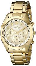 Reloj Bulova Mujer Pulsera Oro Gold Woman Bracelet Watch Crystal Steel Case Hand