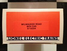 Lionel # 19204 Milwaukee Road Box Car