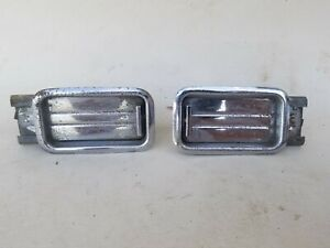 1957 Chevrolet Bel Air 2 Dr Hardtop Rear Ashtrays