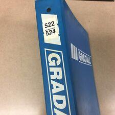 Gradall 522 524 Parts Manual Book Catalog Material Handler Fork Lift Rough Terr