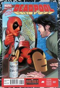 Deadpool #7-9 2013 Marvel Comics Iron Man Demon In A Bottle 1st app Vetis