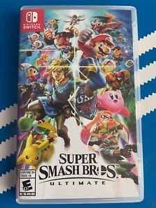 SUPER SMASH BROS ULTIMATE NINTENDO SWITCH USED VERY GOOD