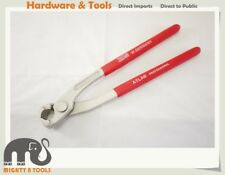 9in Tower Pincer-Ear Clamp Crimper Plier-Clamping Crimping Pincer Front Jaw