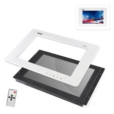 Pyle 9'' Video Monitor Panel Display Screen Hd 1080p Universal Mount in Wall