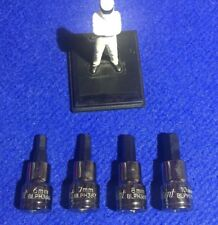Blue Point 1cm Dr Allen hexagonale Ensemble de douilles 6mm 7mm 8mm & 10mm