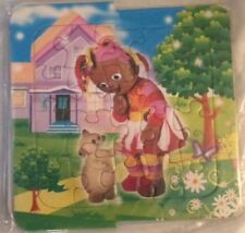 Toddlers Educational Muffin Likel Puzzles  Set of Three Puzzles Brand New