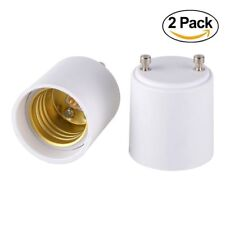 2x GU24 to E26 E27 Adapter for Lighting-Converts your Pin Base Fixture Standard