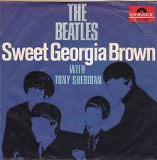 """The Beatles With Tony Sheridan """"Sweet Georgia Brown"""" & """"Skinny Minny"""" PS Only"""