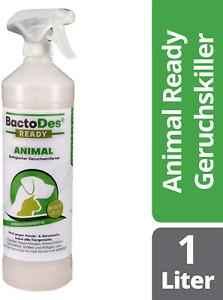 BactoDes Animal Ready - Geruchsentferner Fleckenentferner Spray, Gebrauchsfertig