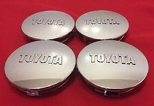 4pcs Toyota Wheel Center Caps Tundra Sequoia Tacoma Chrome C32-TOY, C32C-TOY
