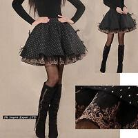 Mini Gonna Donna Stile Vintage - Woman Retro Tutu Mini Skirts 130030