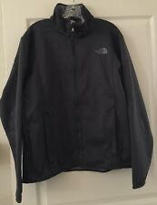 THE NORTH FACE Men's Zip Jacket Charcoal Gray SA900 (size L)
