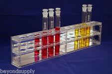 Lab 12 place Polyethylene  100ml NESSLER TUBE RACK (ORGANISM GLASS ) new
