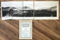 NATIONAL GEOGRAPHIC March 1916 CANADA The Telephone Panorama LHASA Supplement