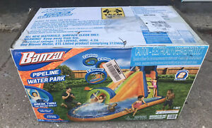 Banzai Pipeline Water Park Inflatable Water Slide NEW in BOX..quick Ship